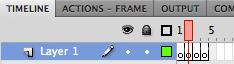 AS3 Step 1 - Adding Frames